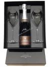Dárková kazeta LG s dvěmi skleničkami + Blanc de Sables