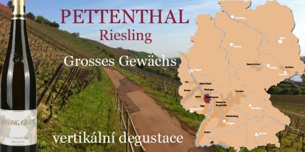 PETTENTHAL Riesling GG - vertikální degustace