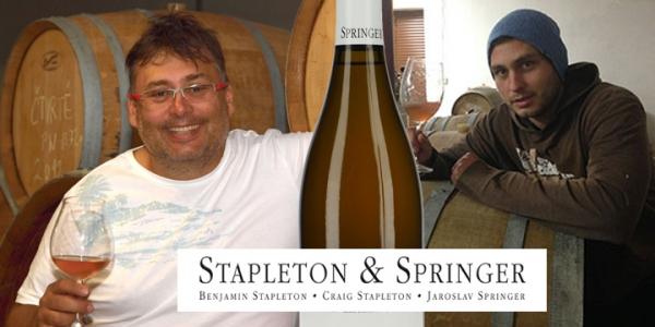SPRINGER - Tomáš představuje svá bio vína